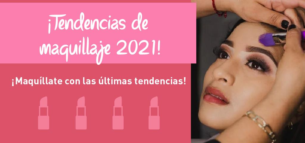 Foto de tendencias de maquillaje 2021