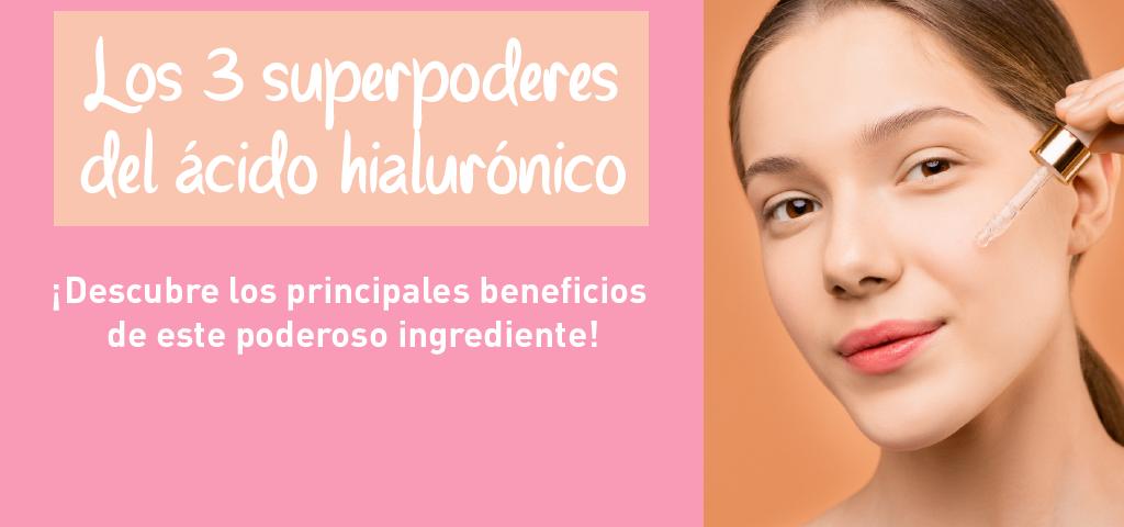 los beneficios del ácido hialurónico